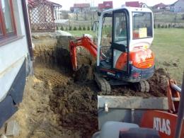 Odkopanie ścian fundamentowych, naprawa izolacji