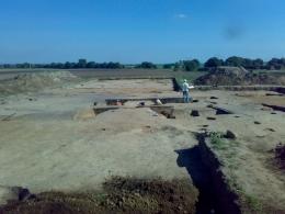 Prace na stanowisku archeologicznym